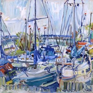 Segelhafen am Chiemsee Image
