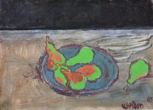 Stillleben mit Birnen ⋅ 1965 Image