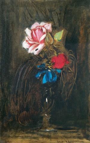 Vase mit Blumen ⋅ um 1865 Image