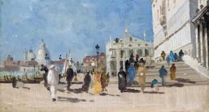 Impression aus Venedig - Riva degli Schiavoni ⋅ um 1900 Image