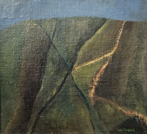 Kleine Landschaft mit Spuren ⋅ 1997 Image