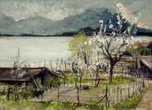 Blühen auf der Insel ⋅ um 1946 Image