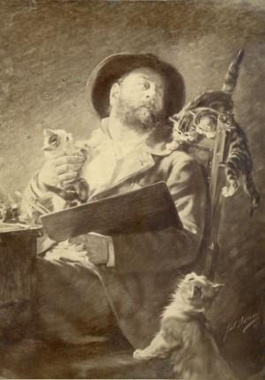 """Julius Adam (""""Katzenadam"""") Image"""