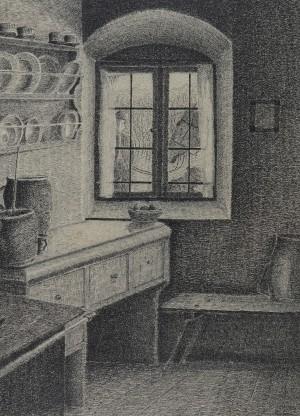 In der Küche ⋅ um 1917 Image