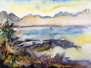 Nebelschwaden in der Morgensonne ⋅ 1988 Image