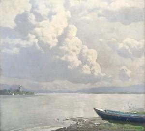 Sommerwolken am Chiemsee ⋅ 1935 Image