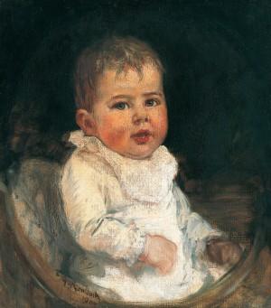 Tochter Hilde ⋅ 1904 Image
