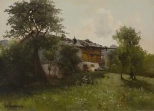 Altes Bauernhaus ⋅ 1904 Image