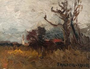 Herbstlandschaft ⋅ um 1940 Image