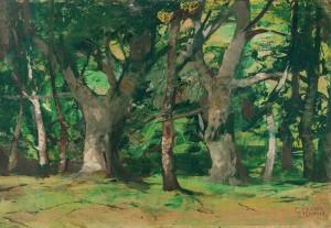 Waldstimmung ⋅ um 1930 Image