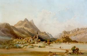 Hohen- und Niederaschau ⋅ um 1850 Image