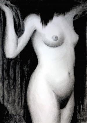 Akt, stehend ⋅ 1965 Image