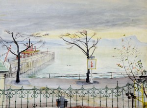 Uferpromenade in Starnberg ⋅ um 1925 Image