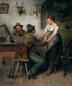 Scherzen ⋅ 1888 Image