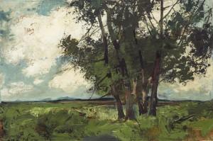 Baumgruppe aus dem Chiemgau ⋅ um 1940 Image