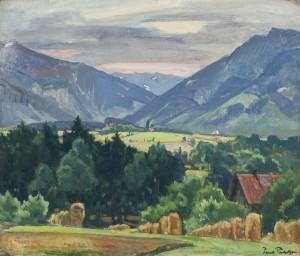 Blick ins Aschauer Tal ⋅ 1934 Image