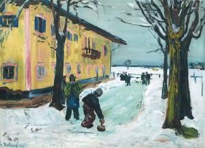 Eisstockschießen (Feldwies) ⋅ 1934 Image