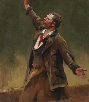 """Fischer (Studie zu dem Gemälde """"Der reiche Fischfang"""") ⋅ 1898 Image"""