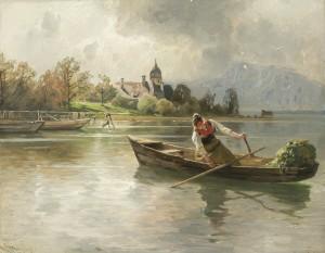 Spiegelung ⋅ um 1900 Image