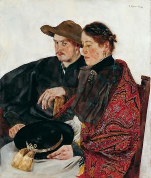 Junges Paar ⋅ 1926/27 Image