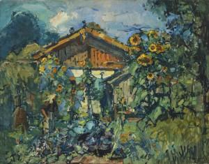 Bauerngarten ⋅ um 1920 Image