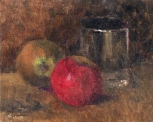 Stillleben mit rotem Apfel ⋅ 1997 Image