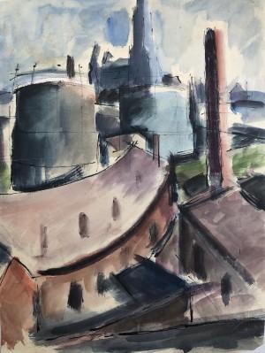 Industriebauten (Studie) Image