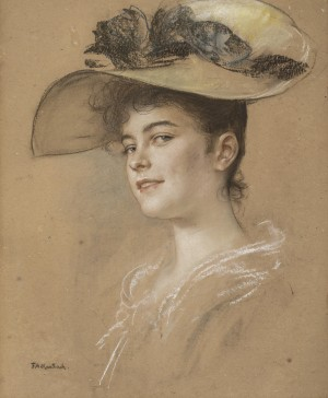 Fräulein Lahmeyer ⋅ 1895 Image