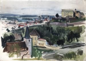 Passau am Inn II ⋅ 1939 Image