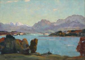 Chiemsee - Schafwaschner Bucht ⋅ 1925 Image