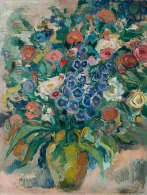 Blumen in Vase ⋅ um 1970 Image