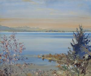 Der Chiemsee im Herbst ⋅ um 1925 Image