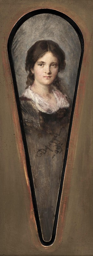 Mädchenporträt ⋅ 1909 Image