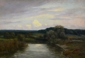 Abend an der Amper ⋅ um 1920 Image