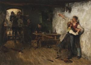 Rauferei ⋅ 1886 Image