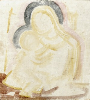 Madonna mit Kind (Skizze) Image