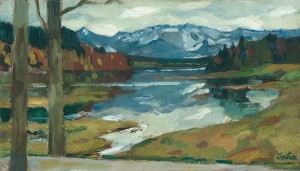 Kampenwand (Chiemsee) ⋅ um 1910 Image