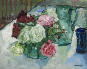 Stillleben im Garten ⋅ 1916 Image