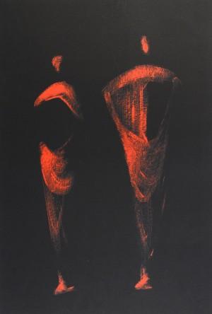 Figuren in Rot ⋅ um 1970/75 Image