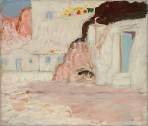 Die blauen Türen auf Ponza ⋅ 1911 Image