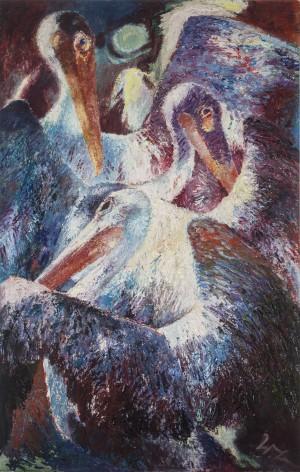 Pelikane ⋅ um 1960 Image