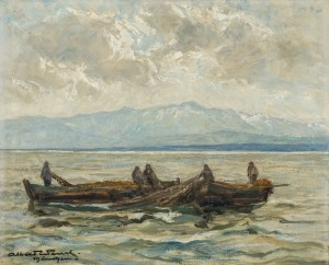 Bodenseefischer ⋅ um 1920/30 Image