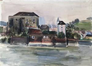 Passau am Inn III ⋅ 1939 Image