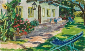 Haus im Grünen (Feldwies) ⋅ um 1955 Image