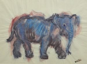 Blauer Elefant ⋅ um 1960/65 Image