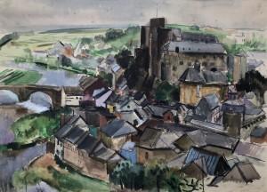 Esch an der Sauer, Gesamtansicht (Luxemburg) Image