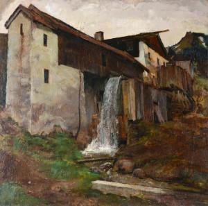 Sägemühle am Samerberg ⋅ 1924 Image