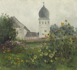 Klostergarten ⋅ um 1985 Image