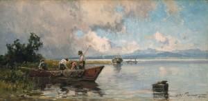 Chiemseefischer ⋅ um 1920 Image