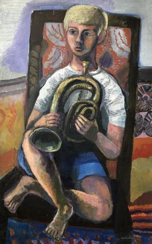 Florian mit Trompete ⋅ 1964 Image